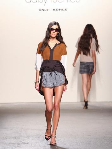 Fashion Week spring summer 2014 Daisy Fuentes Look 9