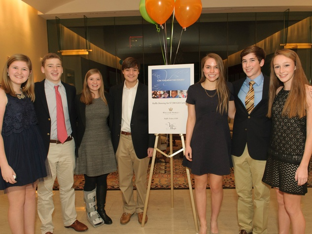 Annie Wagner, Baron Holmes, Avery Roossien, Dayton Conklin, Avery Mercurio, Coope Marchetto, Emma Parker, Voice of Hope Dinner
