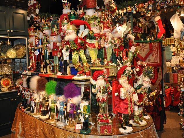 Events November 2013 nutcrackers Santas elves Christmas decorations