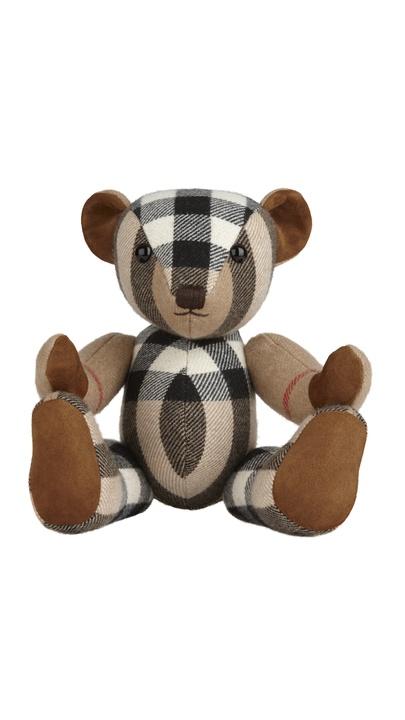 Burberry cashmere teddy bear