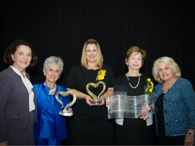 Louise Appleman, Juana Rosa Daniell, Corrie Watson, Sharon Benge and Ginny Tigue