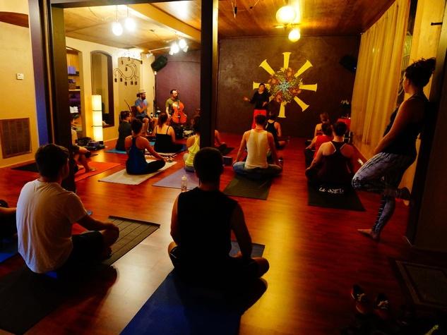 Hyde Park Yoga Company class