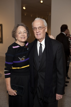 Picasso Black and White opening dinner, February 2013, Anne S. Brown, Peter H. Brown