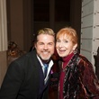 Alden Clark and Cynthia Hinesley at The Women's Home Gala November 2014