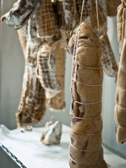 Austin Photo Set: News_Pal Moore_salt and time_August 2011_hanging meat