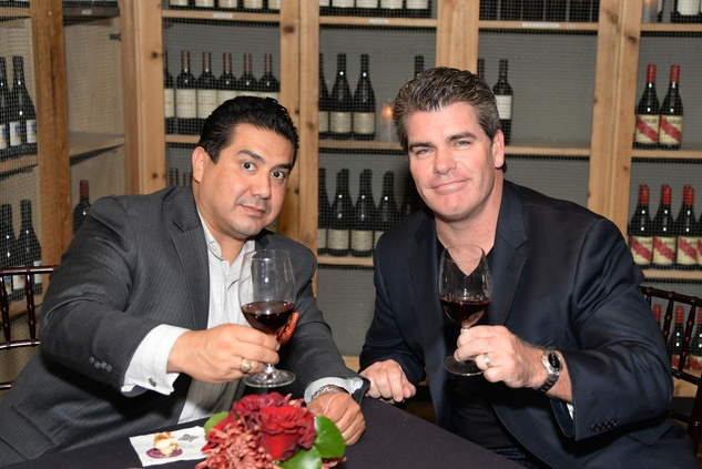 28 Chris Cardenas, left, and Chase Oelkers at the KNOWAutism Foundation reception September 2014