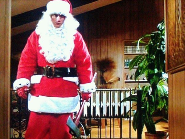 Silent Night, Deadly Night, Santa, axe