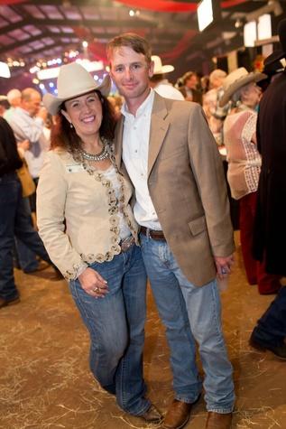 Cattle Baron's Ball 2015 Kimberli Bowman and Sam Bishop