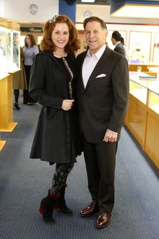 Katina Pontikes and Monty McDannald at the Alley Theatre Gala Kick-Off March 2015