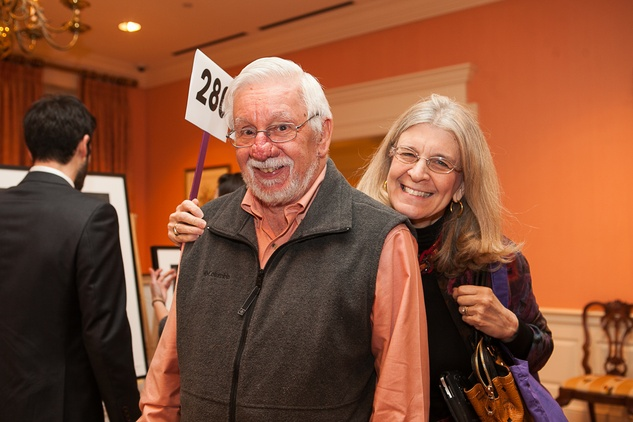 11 Jim Belli and Patricia Eifel at the Houston Center for Photography Print Auction February 2014
