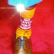 Robert Griffin III draft socks