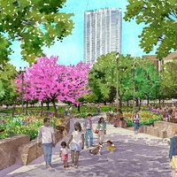 Republic Square Park downtown Austin renovation rendering 2016