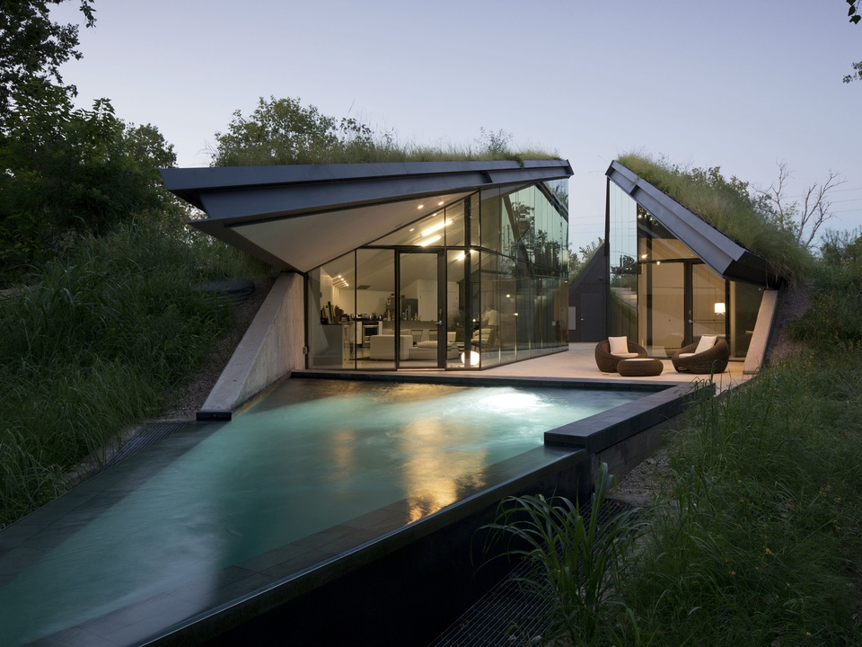 This hidden retreat is quite possibly the coolest house in Austin ...