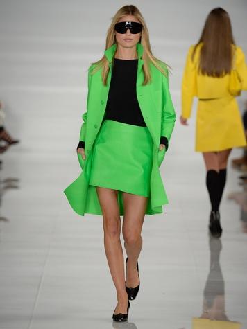Fashion Week spring summer 2014 Ralph Lauren Collection Spring 2014 Look 36