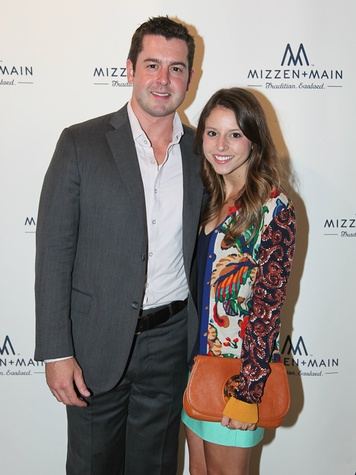Steven Stroud and Paige Hadd at Mizzen+Main 2 year anniversary
