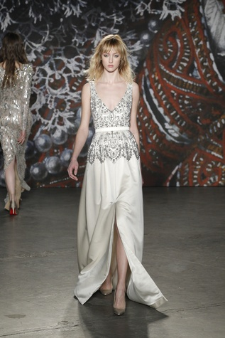 Jenny Packham look 34 fall 2015 collection