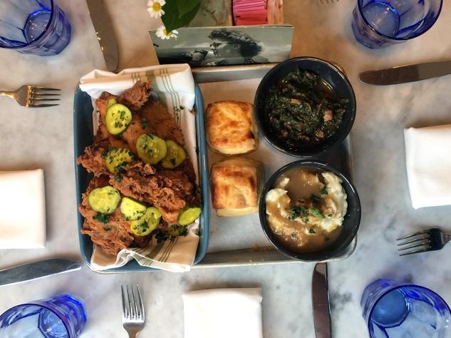 Houston, fried chicken, July 2017, Eloise Nichols