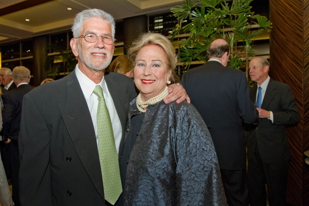 125 95 Dr. James Muntz and Anne Muntz at Houston Methodist's Rendezvous in Blue Gala November 2013