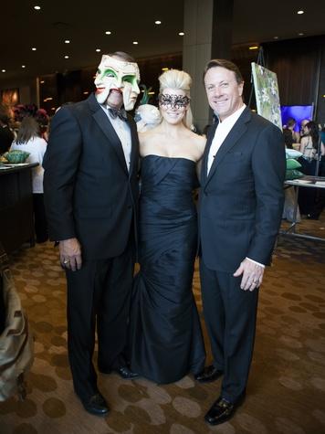 Paul Divis, Holly Davis, Stubbs Davis at House of DIFFA 2014