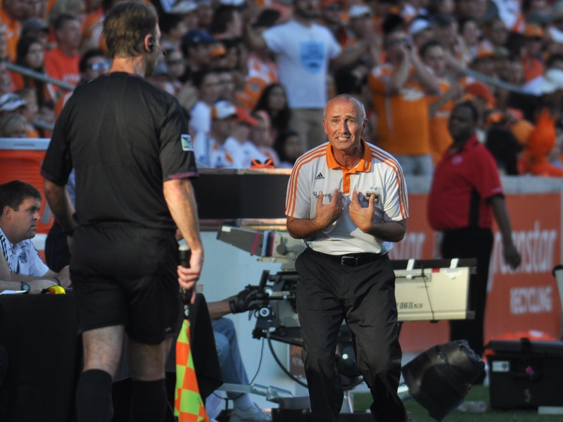 Dynamo coach Dominic Kinnear