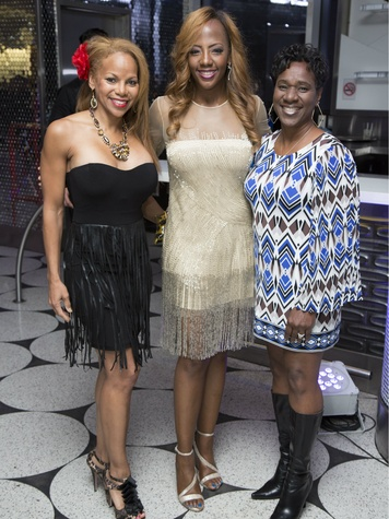 Donna Richardson Joyner, Gail Warrior, Avis Brown Riley, Deals and Dreams Casino Party