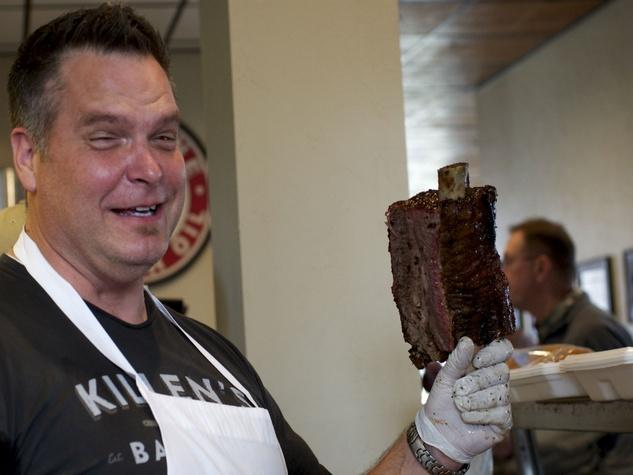 Killen's Barbecue Ronnie Killen beef rib