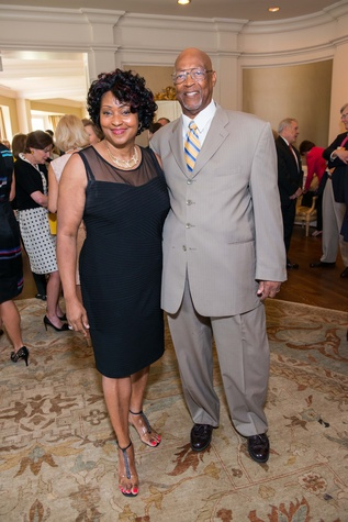 Houston, News, Shelby, Depelchin Children's Center Luncheon, May 2015, Gail and Willie Richardson