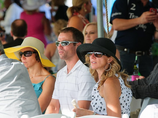 Texas Children's Hospital Polo Classic, Hats & Horses, September 2012, Polo, grand stand, viewers, crowd