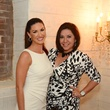 5 Nicole Lassiter, left, and Debbie Festari at the Corner Table business lunch July 2014