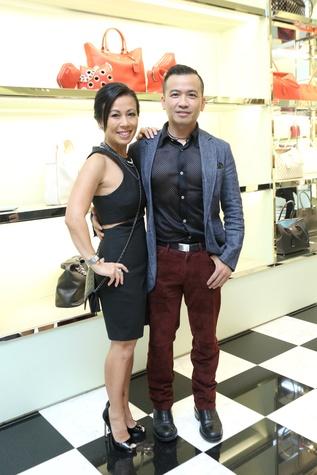 Chau Nguyen, Viet Hoang at APAHA kickoff party at Prada