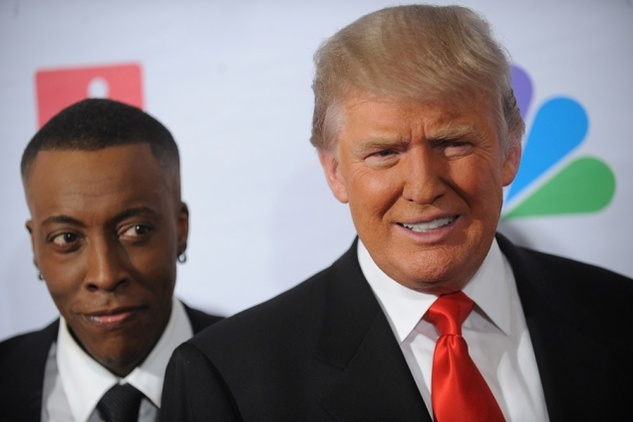 Austin Photo Set: News_Mike_celelbrity apprentice_may 2012_trump and Arsenio
