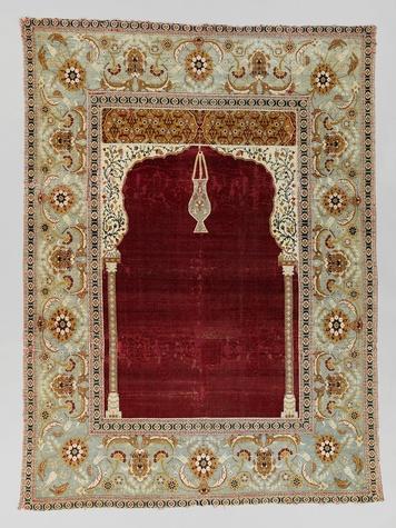 MFAH al-Sabah exhibit February 2015 Turkish - Prayer Carpet