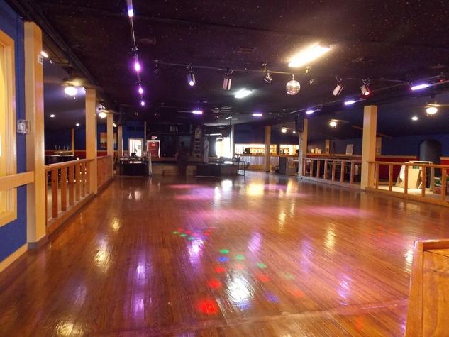Neon Boots Dancehall & Saloon big dance floor August 2013