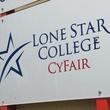Lone Star College Cy-Fair sign