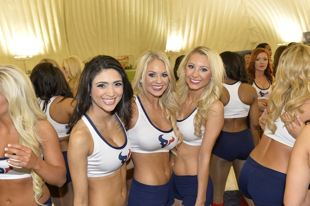 Houston Texans cheerleaders April 2015