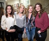 Dallas, LR Art House opening, January 2018, Christy Crenshaw, Allison Benners, Deanna Mahowald, Jennifer Newhoff