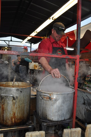 News, Shelby, World Championship BBQ Cook-off, February 2015, Bret Simmons, Cayenne Social Club