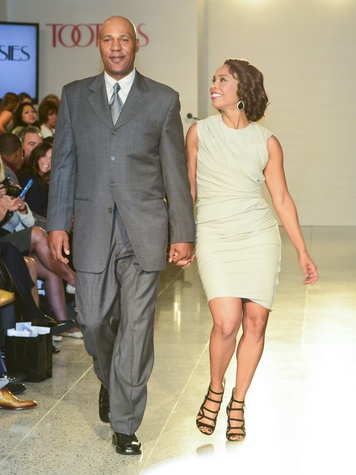 27 Mario Ellie and Gina Gaston Elllie at the Dec My Room Fashion Show February 2014