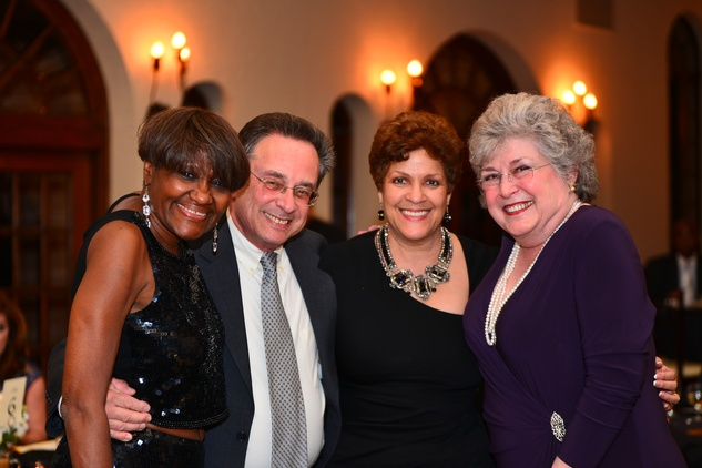 204 Dr. Regenia Hicks, from left, Dr. Steve Schnee, Wanda LeBlanc and Bonnie Hellums at the Santa Maria Gala June 2014