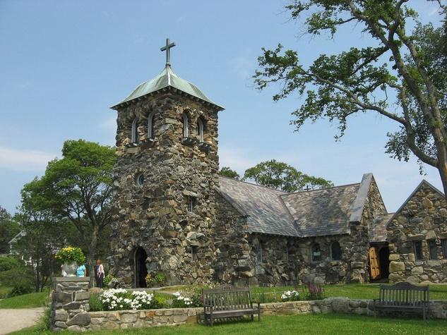 St. Anne's Episcopal Church at Kennebunkport, Maine