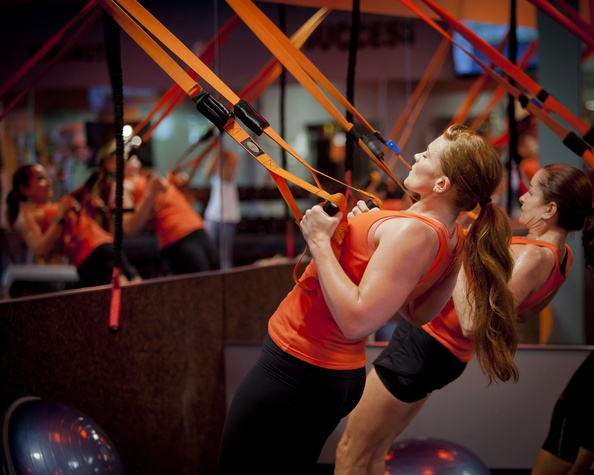 Suspension Training at Orangetheory Fitness