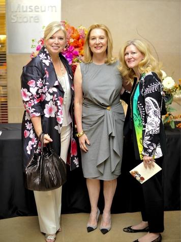 Jennifer Houser, Peggy Sewell, Ellen Winspear, art in bloom