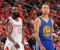 James Harden Stephen Curry