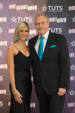 Faith and Lee Majors at 2017 TUTS Dreamgirls Gala