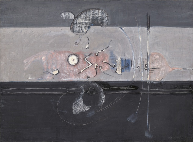 Mark Rothko Retrospective: Untitled, 1945