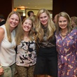 Lindsay Martin, from left, Ruth Cagle, Carly Lee and Sarah Wynne at the LifeHouse Houston Duck Dynasty dinner September 2014