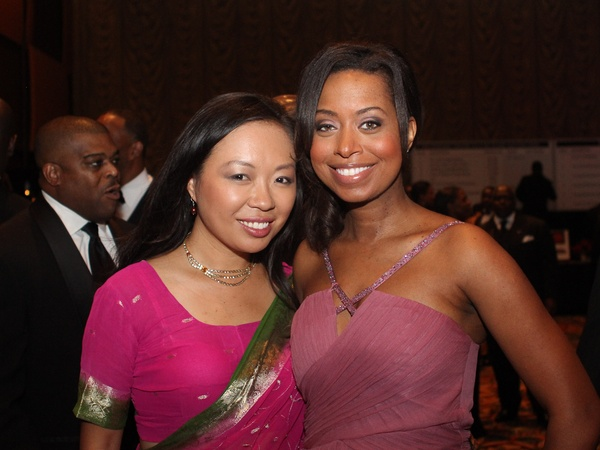 Ensemble Theatre gala, August 2012, Mia Shay, Melinda Spaulding