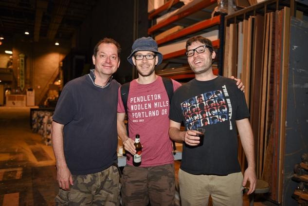 Houston, News, Shelby, Alley Theatre Scene Event, May 2015, Niall Ashdown, Dominic Marsh, Pat Moran