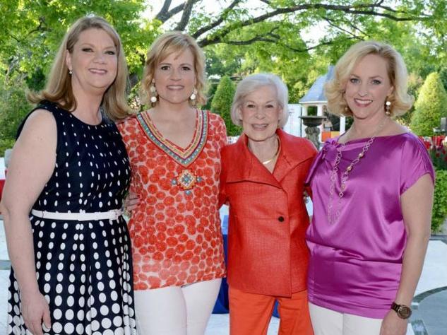 Christina Norris, Taya McDonald, Faye Briggs and Meredith Camp, recess for dallas after school