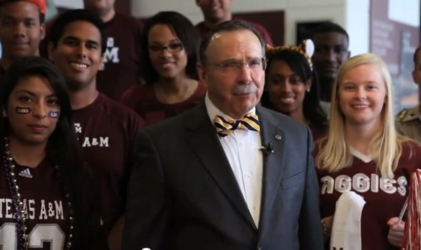 Austin photo: News_A&amp;M Video_President Loftin